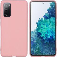 iMoshion Coque Color Samsung Galaxy S20 FE - Rose