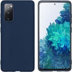 iMoshion Coque Color Samsung Galaxy S20 FE - Bleu foncé