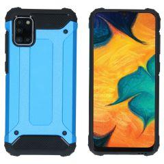 iMoshion Coque Rugged Xtreme Samsung Galaxy A31 - Bleu clair