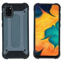 iMoshion Coque Rugged Xtreme Samsung Galaxy A31 - Bleu foncé