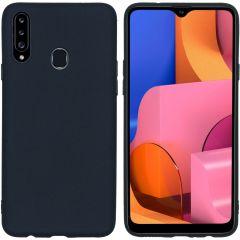 iMoshion Coque Color Samsung Galaxy A20s - Noir