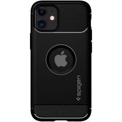 Spigen Coque Rugged Armor iPhone 12 Mini - Noir