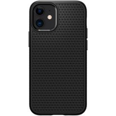 Spigen Coque Liquid Air iPhone 12 Mini - Noir