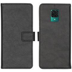 iMoshion Étui de téléphone Luxe Xiaomi Redmi Note 9 Pro / 9S - Noir