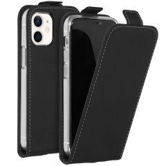 Accezz Étui à rabat iPhone 12 Mini - Noir