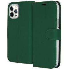 Accezz Étui de téléphone Wallet iPhone 12 Pro Max - Vert