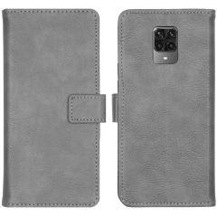 iMoshion Étui de téléphone Luxe Xiaomi Redmi Note 9 Pro / 9S - Gris