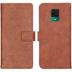 iMoshion Étui de téléphone Luxe Xiaomi Redmi Note 9 Pro / 9S - Brun