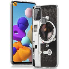 iMoshion Coque Design Samsung Galaxy A21s - Classic Camera