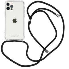 iMoshion Coque avec cordon iPhone 12 (Pro) - Noir