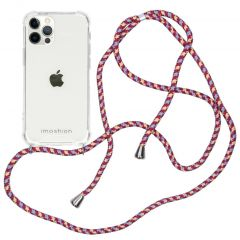 iMoshion Coque avec cordon iPhone 12 (Pro) - Violet