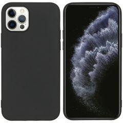 iMoshion Coque Color iPhone 12 (Pro) - Noir