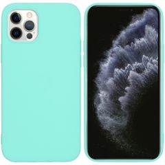 iMoshion Coque Color iPhone 12 (Pro) - Turquoise