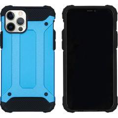 iMoshion Coque Rugged Xtreme iPhone 12 (Pro) - Bleu clair