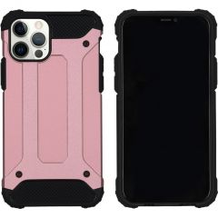 iMoshion Coque Rugged Xtreme iPhone 12 (Pro) - Rose Champagne