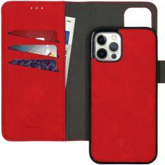 iMoshion Etui de téléphone 2-en-1 amovible iPhone 12 (Pro) - Rouge