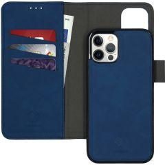 iMoshion Etui de téléphone 2-en-1 amovible iPhone 12 (Pro) - Bleu