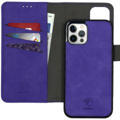 iMoshion Etui de téléphone 2-en-1 amovible iPhone 12 (Pro) - Lila