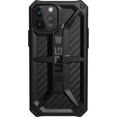 UAG Coque Monarch iPhone 12 (Pro) - Carbon Fiber Black