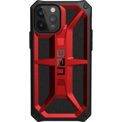 UAG Coque Monarch iPhone 12 (Pro) - Rouge