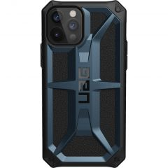 UAG Coque Monarch iPhone 12 (Pro) - Bleu