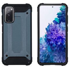 iMoshion Coque Rugged Xtreme Samsung Galaxy S20 FE - Bleu foncé