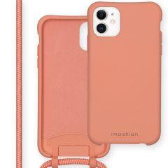 iMoshion Coque de couleur avec cordon amovible iPhone 11 - Peach