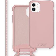 iMoshion Coque de couleur avec cordon amovible iPhone 11 - Rose