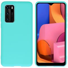 iMoshion Coque Color Huawei P40 - Turquoise
