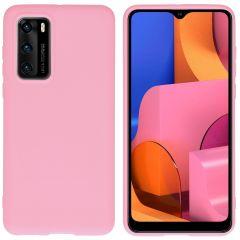 iMoshion Coque Color Huawei P40 - Rose