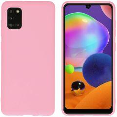 iMoshion Coque Color Samsung Galaxy A31 - Rose