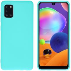 iMoshion Coque Color Samsung Galaxy A31 - Turquoise