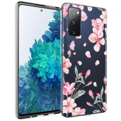 iMoshion Coque Design Samsung Galaxy S20 FE - Fleur - Rose