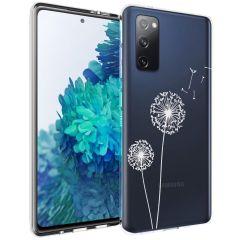 iMoshion Coque Design Samsung Galaxy S20 FE - Pissenlit - Blanc