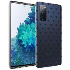 iMoshion Coque Design Samsung Galaxy S20 FE - Cœurs - Noir