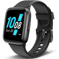 Lintelek Smartwatch Fitness Armband 205U - Noir
