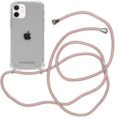 iMoshion Coque avec cordon iPhone 12 Mini - Rose Champagne
