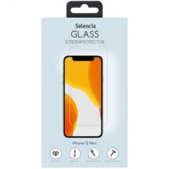 Selencia Protection d'écran en verre durci iPhone 12 Mini