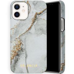 Selencia Coque Maya Fashion iPhone 12 Mini - Marble Stone