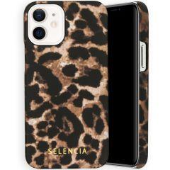 Selencia Coque Maya Fashion iPhone 12 Mini - Brown Panther