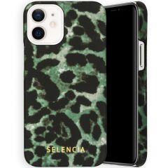 Selencia Coque Maya Fashion iPhone 12 Mini - Green Panther