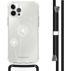 iMoshion Coque Design avec cordon iPhone 12 Pro Max - Pissenlit