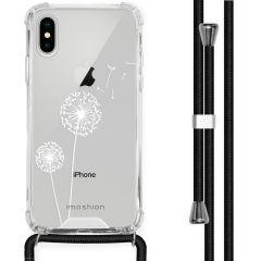 iMoshion Coque Design avec cordon iPhone X / Xs - Pissenlit - Blanc