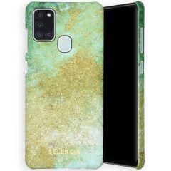 Selencia Coque Maya Fashion Samsung Galaxy A21s - Green Nature