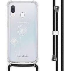 iMoshion Coque Design avec cordon Samsung Galaxy A40 - Pissenlit