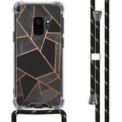 iMoshion Coque Design avec cordon Samsung Galaxy S9 - Cuive graphique