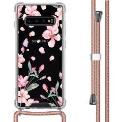 iMoshion Coque Design avec cordon Samsung Galaxy S10 Plus - Fleur