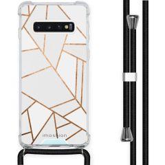 iMoshion Coque Design avec cordon Samsung Galaxy S10