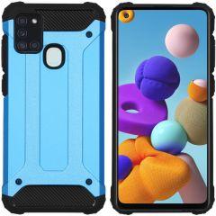 iMoshion Coque Rugged Xtreme Samsung Galaxy A21s - Bleu clair