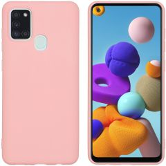 iMoshion Coque Color Samsung Galaxy A21s -  Rose